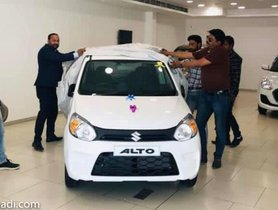 First-ever 2019 Maruti Alto 800 (Facelift) Delivered To Its Owner
