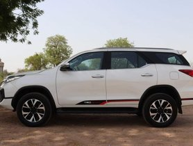 Used Toyota Fortuner TRD Sportivo 2.8 2WD AT 2018 for sale