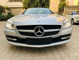 Used Mercedes Benz SLK Class 2015 car at low price