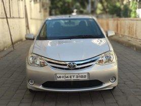 2011 Toyota Platinum Etios for sale at low price