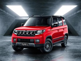 2019 Mahindra TUV300 (Facelift) Launched At Rs 8.38 Lakh