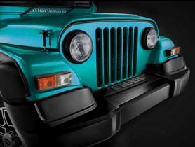 Mahindra Thar Signature Edition To Get Two Exterior Colours