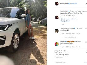 Katrina Kaif With Her New Luxury Range Rover SE Vogue SUV Appears On Instagram