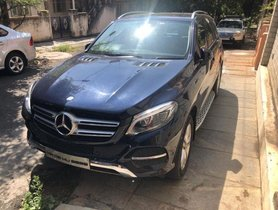 Used Mercedes Benz GLE car at low price