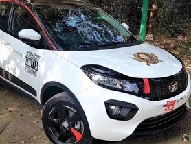This Tata Nexon Has Been Impressively Modified Based On PUBG Theme
