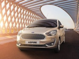 Ford Aspire Titanium Blu Variant To Launch Soon