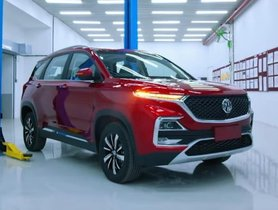 MG Hector Pre-Launch Bookings To Open In June 2019