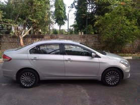 2016 Maruti Suzuki Ciaz for sale at low price