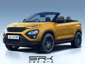 This Tata Harrier Convertible Looks Amazing In A New -Creative Rendering