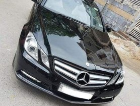 2012 Mercedes Benz E Class for sale at low price