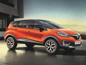 Renault Captur Sales Dwindle, Only 125 Units Sold Last Month