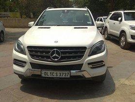 2014 Mercedes Benz M Class for sale