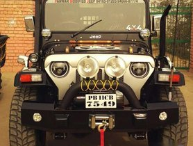 2005 Mahindra Jeep for sale at low price