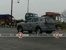 Next-Gen Mahindra Scorpio Spotted On Test For The First Time Ever