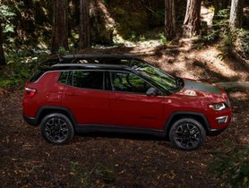 2019 Jeep Compass Trailhawk Spotted Before The India Launch