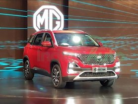 MG Hector Unveiled Ahead Of Its India Launch In June