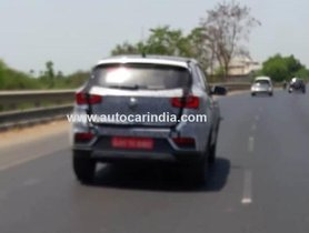 MG eZS Spotted Testing On Indian Roads For The First Time