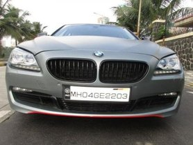2013 BMW 6 Series AT for sale at low price
