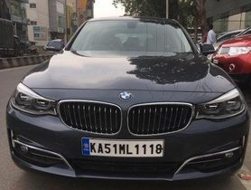 Used BMW 3 Series GT Luxury Line AT 2017 for sale