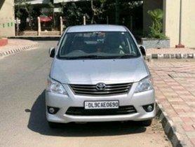 Used Toyota Innova MT car at low price