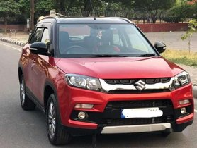 Used Maruti Suzuki Vitara Brezza car 2016 for sale at low price