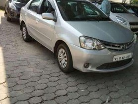 Used Toyota Etios car 2012 for sale  at low price