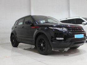 Used Land Rover Range Rover Evoque car at low price