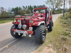 2002 Mahindra Thar for sale at low price