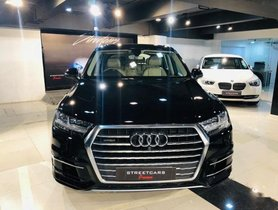2016 Audi Q7 45 TDI Quattro Technology AT for sale at low price