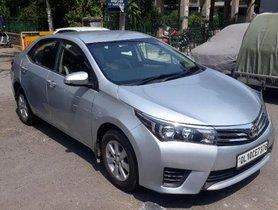 Used Toyota Corolla Altis Diesel D4DG MT car at low price