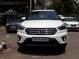 Used 2017 Hyundai Creta  1.6 SX Option Diesel MT for sale
