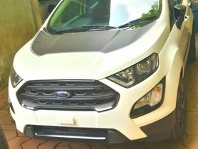 Ford EcoSport Thunder Edition Leaked Prior To Imminent Launch
