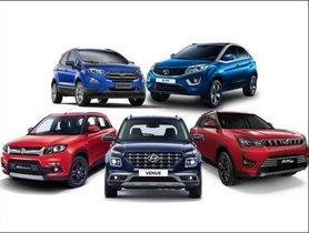 Hyundai Venue Vs Maruti Vitara Brezza Vs Mahindra XUV300 Vs Tata Nexon Vs Ford Ecosport