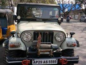 Used Mahindra Jeep car at low price
