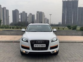 Used Audi Q7 3.0 TDI Quattro Premium Plus AT car at low price