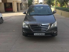 Toyota Innova 2.5 ZX 7 STR BS-IV, 2013, Diesel MT for sale