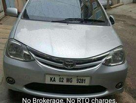 Toyota Etios 2012 for sale