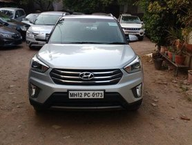 Used 2017 Hyundai Creta 1.6 VTVT SX Plus Dual Tone MT for sale