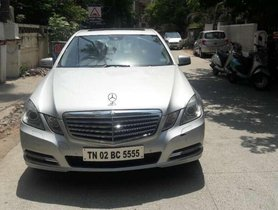 Mercedes Benz E Class 2011 AT for sale