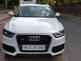 Used Audi Q3 AT 2012-2015 car at low price