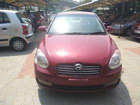 Used Hyundai Verna CRDi SX MT car at low price