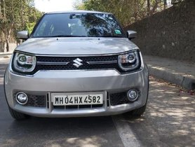 Used Maruti Suzuki Ignis 1.2 Alpha MT 2017 for sale