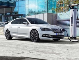 India-bound Skoda Superb Facelift Revealed With Plug-In Hybrid Option