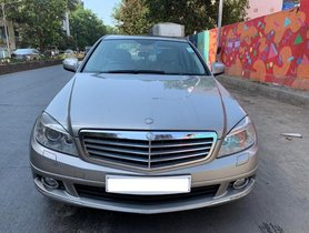Used Mercedes Benz C-Class C 220 CDI Elegance AT car at low price
