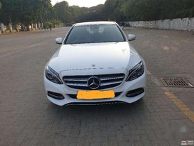 Used Mercedes Benz C-Class car 2015 for sale at low price
