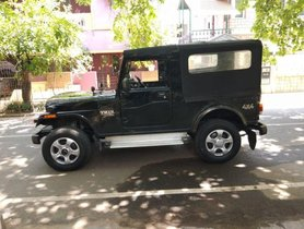 Used Mahindra Thar CRDe AC MT car at low price