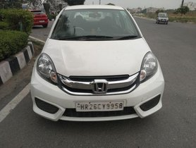 2016 Honda Amaze S i-VTEC MT for sale at low price