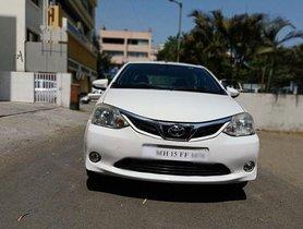 Used Toyota Platinum Etios 1.4 VD MT 2016 for sale