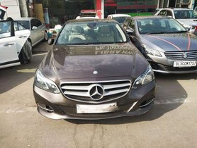 Mercedes Benz E Class AT 2013 for sale