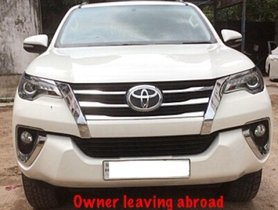 Toyota Fortuner 2.8 2WD AT 2017 for sale